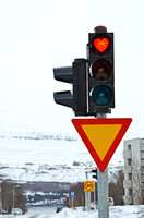 Caring and Sharing Traffic Signal