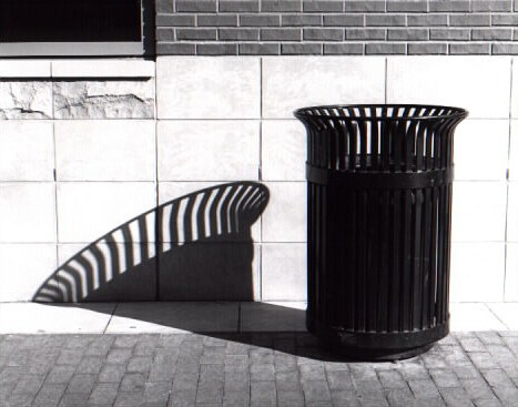 Trash Can and Shadow